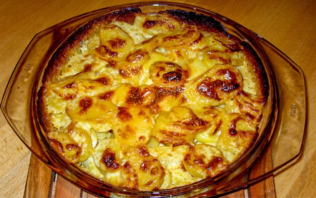 Kartoffelgratin selbstgemacht
