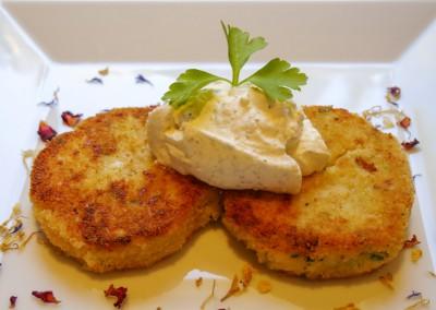 Blumenkohl-Kartoffeltaler