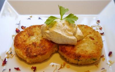 Der Blumenkohl-Kartoffeltaler