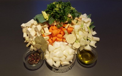 Gemüsebrühe selbstgemacht