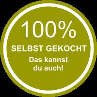 100% Selbstgemacht