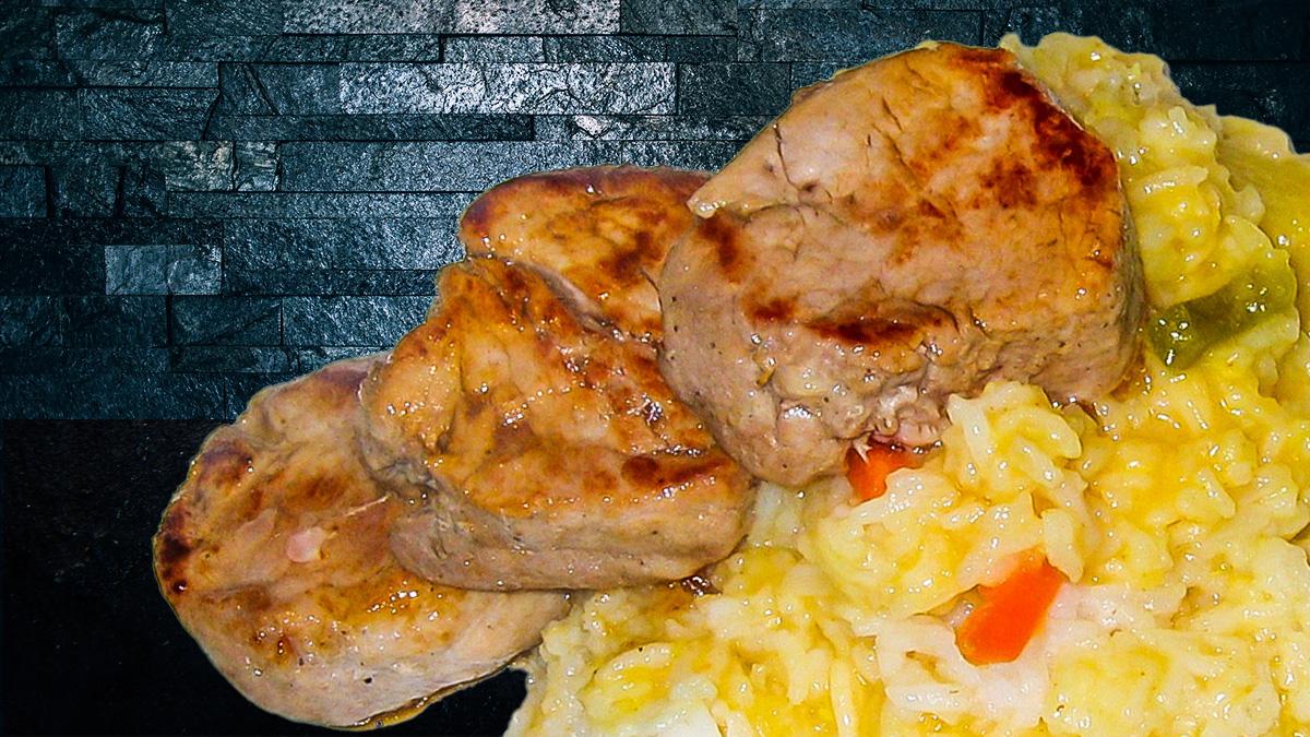 Rezept Schweinefilet Risotto
